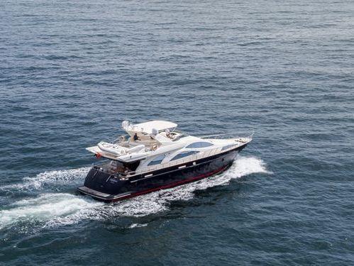 Imbarcazione a motore Azimut 80 · 2003