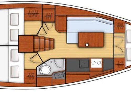 Segelboot Beneteau Oceanis 35.1 · 2019