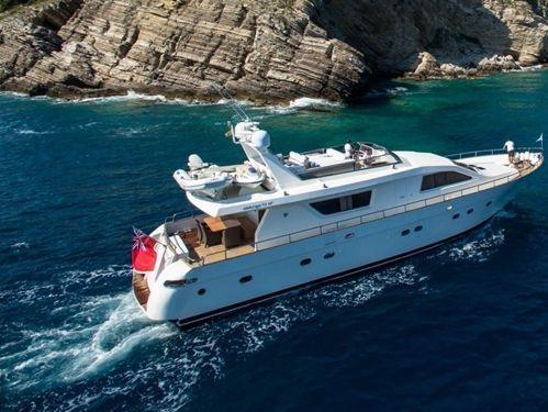 Motorboat Alalunga 73 · 1991