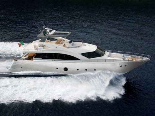 Imbarcazione a motore Aicon 75 (2009)