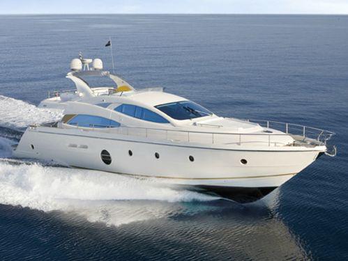 Imbarcazione a motore Aicon 64 (2012)