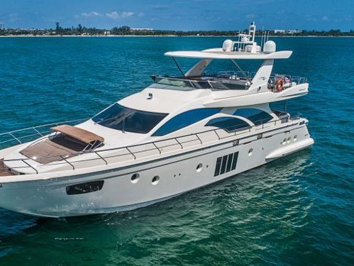 Imbarcazione a motore Azimut 78 Flybridge · 2015