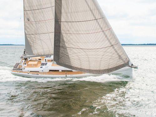 Sailboat Hanse 548 (2019)