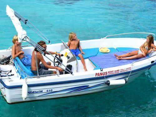 Motoscafo Poseidon 480cc (2006)