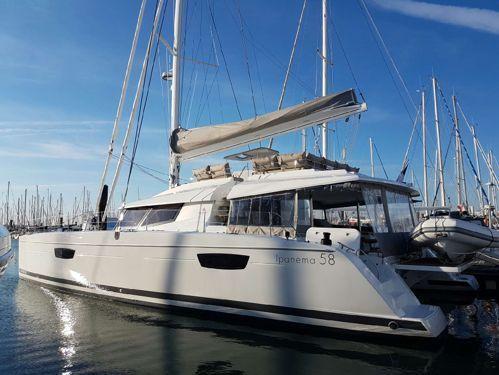 Catamaran Fountaine Pajot Ipanema 58 · 2019