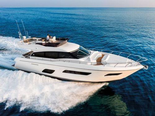 Barco a motor Ferretti 500 · 2021