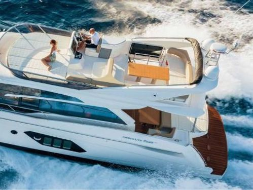 Motorboat Absolute 52 Fly · 2019
