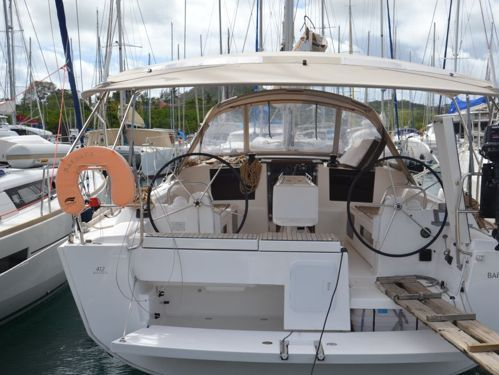 Segelboot Dufour 412 · 2018