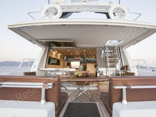 Motorboot Ferretti 58/64 · 1991