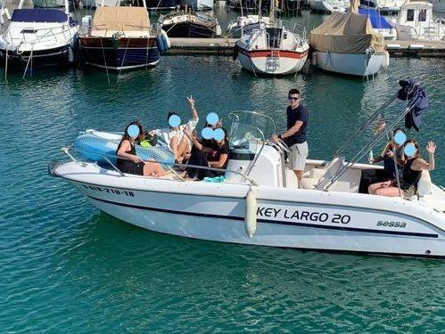 Speedboat Sessa Key Largo 20 · 2012