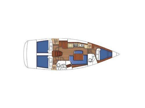 Segelboot Beneteau Oceanis 40 · 2008
