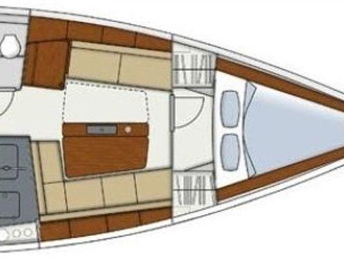 Barca a vela Hanse 345 · 2017