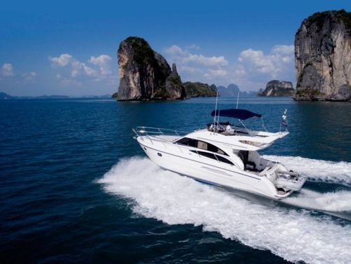 Motorboot Princess V40 · 2004