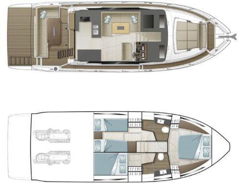 Imbarcazione a motore Sealine F430 · 2020