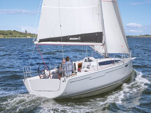 Sailboat Dehler 34 · 2017