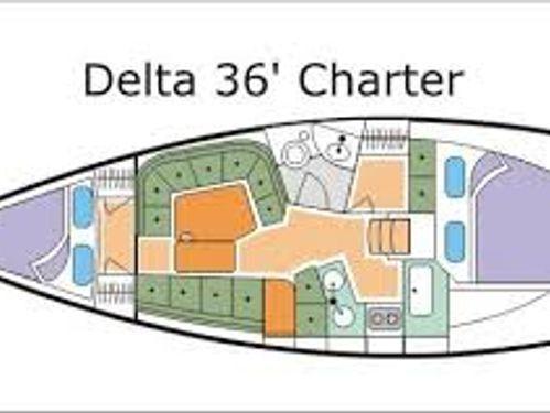 Zeilboot Delta 36 · 2013