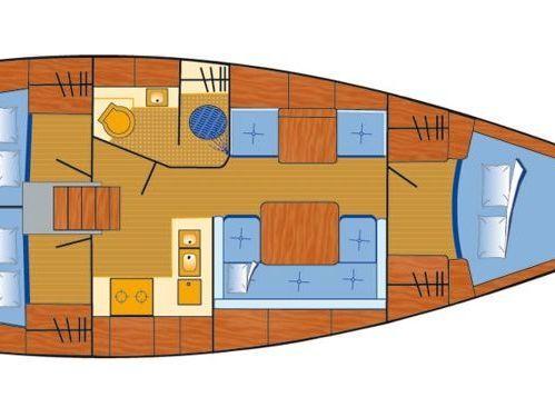 Barca a vela Hanse 370 · 2009