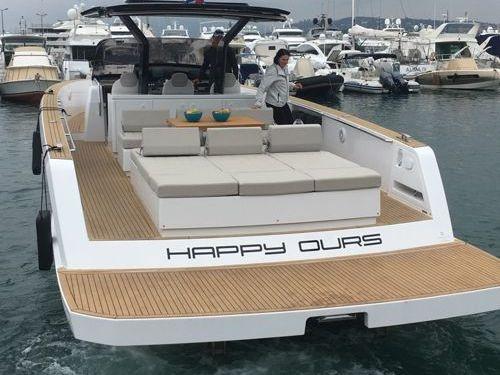 Motorboot Pardo 43 · 2019