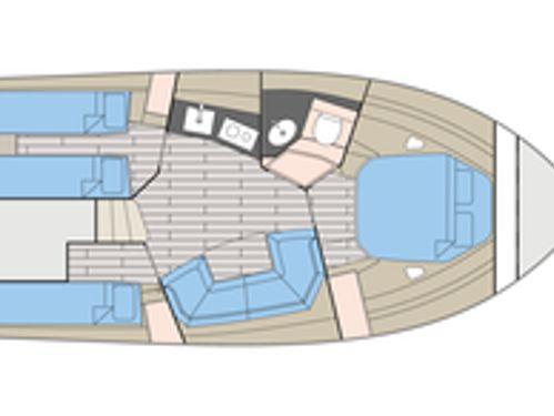 Imbarcazione a motore Fiart 40 · 2004