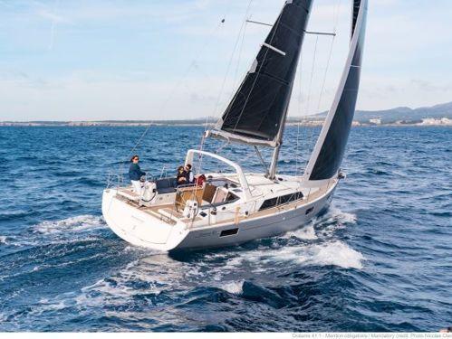 Sailboat Beneteau Oceanis 41.1 · 2018