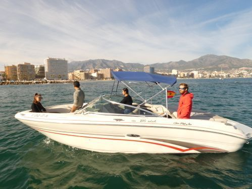 Speedboat Sea Ray 220 SDX · 2007
