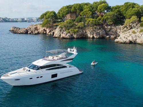 Motorboot Princess 64 · 2015