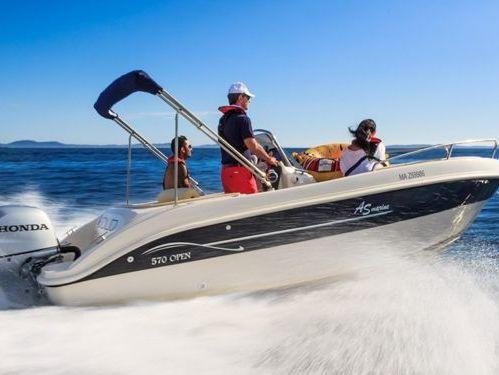 Motorboat AS Marine 570 Open · 2019