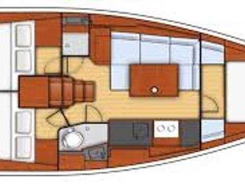 Sailboat Beneteau Oceanis 41 · 2014