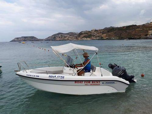 Motoscafo Poseidon 480cc · 2018