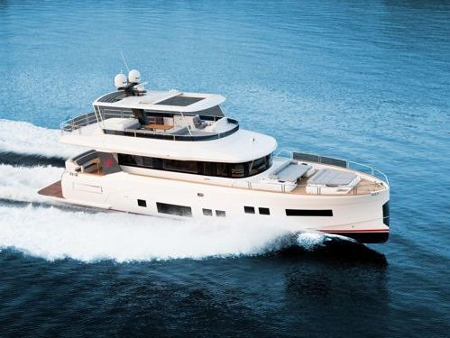 Motorboot Sirena 64 · 2012