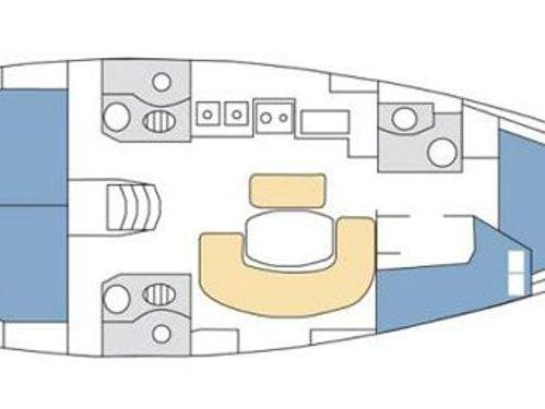 Barca a vela Beneteau Clipper 423 · 2005