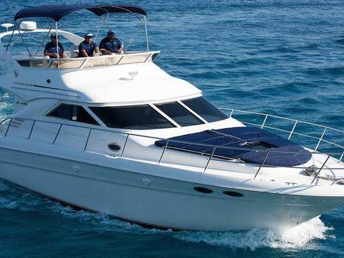 Motorboot Sea Ray 400 Sundancer · 2010