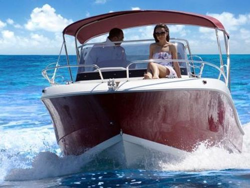 Imbarcazione a motore Atlantic Marine 655 Sun Cruiser · 2017