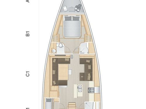 Segelboot Hanse 588 (2019)
