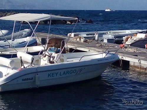 Motorboat Sessa Key Largo 19 · 2009