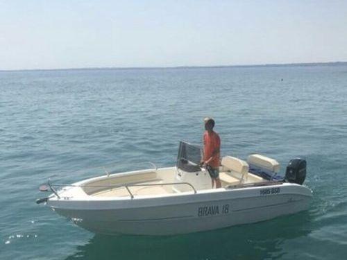 Speedboot Mingolla Brava 18 (2017)