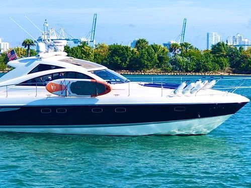 Motorboat Sea Ray 455 Sundancer · 2008