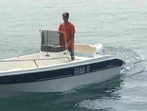 Speedboat Mingolla Brava 16 · 2017