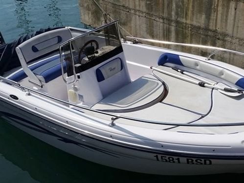 Speedboat Ranieri Voyager · 2018