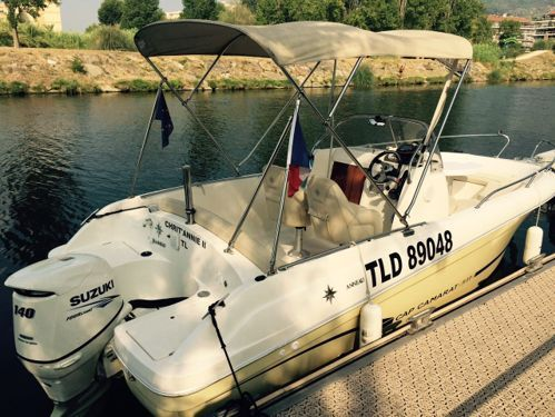 Speedboat Jeanneau Cap Camarat 635 · 2012