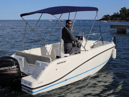 Speedboat Quicksilver 555 (2014)
