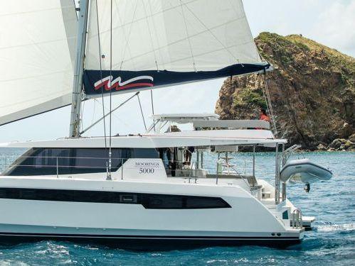 Catamarán Leopard Moorings 5000-5 · 2020