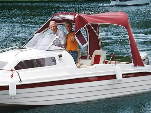 Imbarcazione a motore Aqualine 520 (2020)