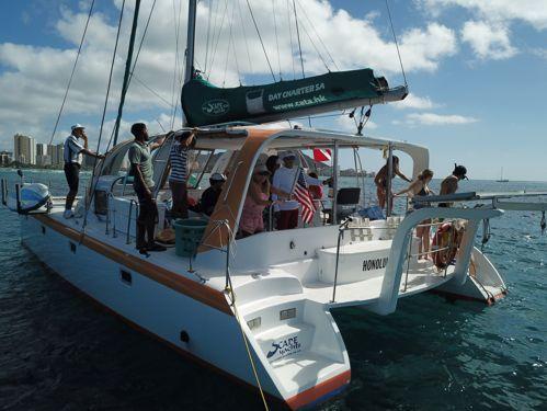 Catamarán Scape Yachts Day Charter · 2009