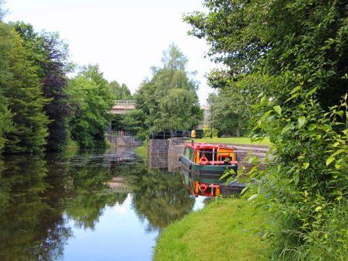 Motorboot Barge Wide Beam · 2002