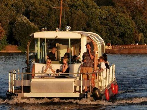 Speedboot Kiebitzberg PonTom 14 (2010)
