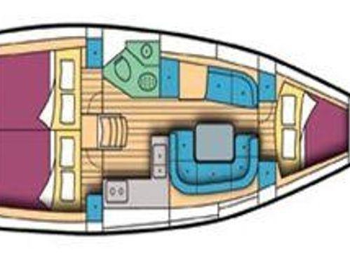 Segelboot Jeanneau Sun Fast 37 · 2002