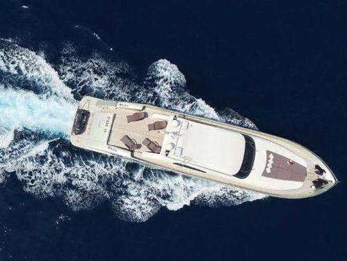 Imbarcazione a motore TechnoMarine 90 (2007)