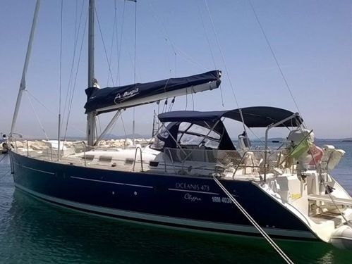 Barca a vela Beneteau Oceanis Clipper 473 (2002)