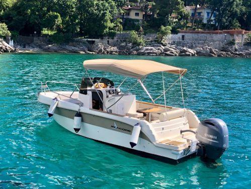 Imbarcazione a motore Hampton Seacode 670 (2013)